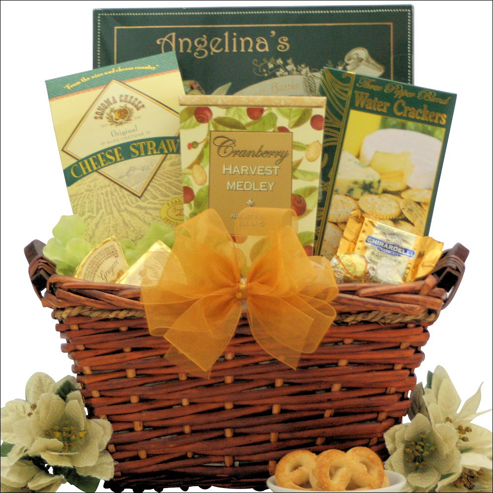 Christmas gift basket delight