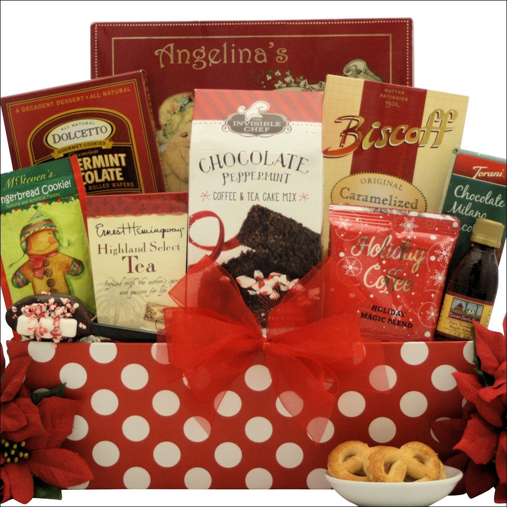 A great Christmas morning gift basket