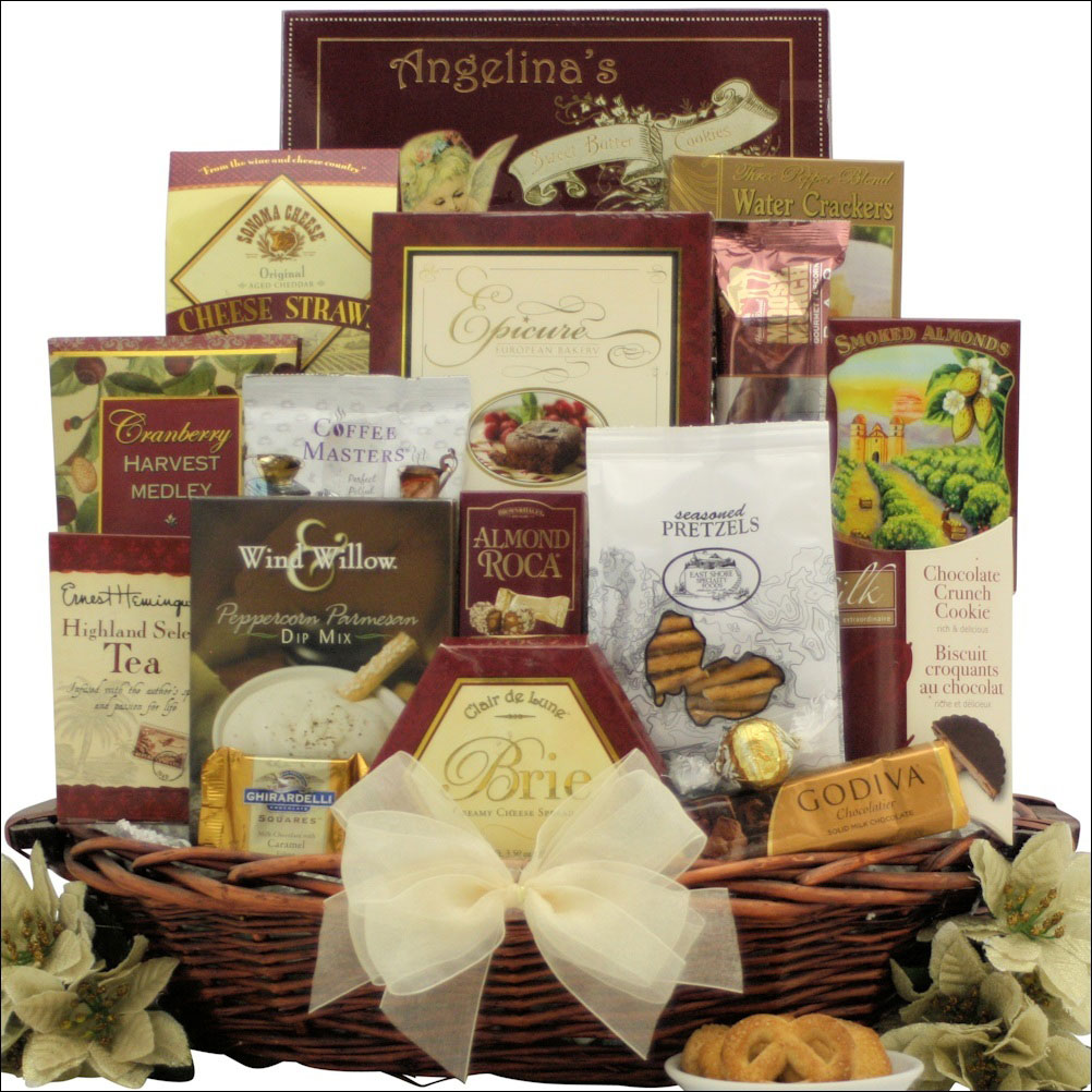 finer things holiday gift basket
