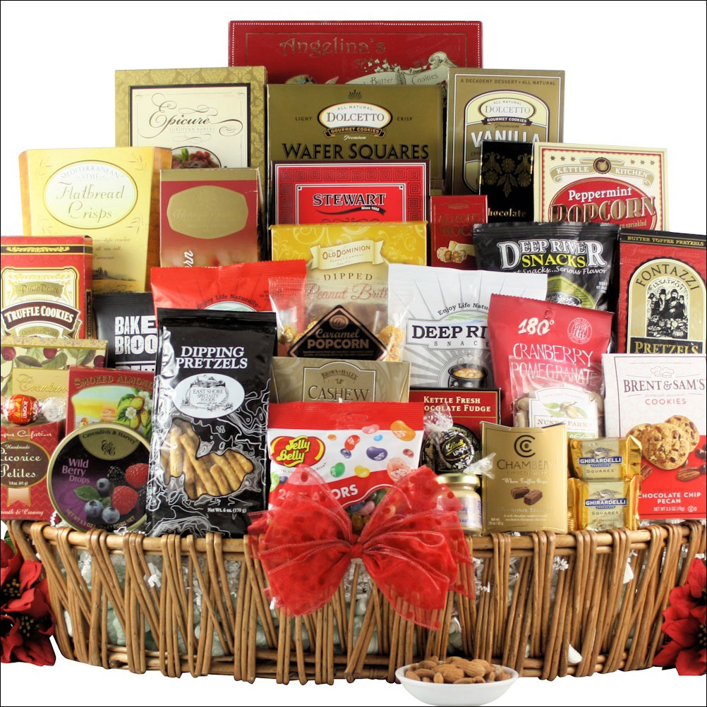 munchies gourmet holiday gift basket