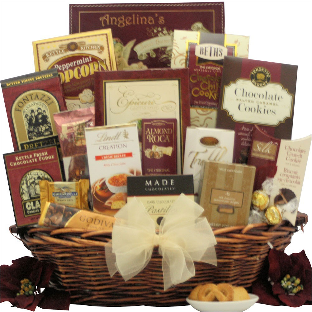 Piece and Prosperity Christmas gift basket