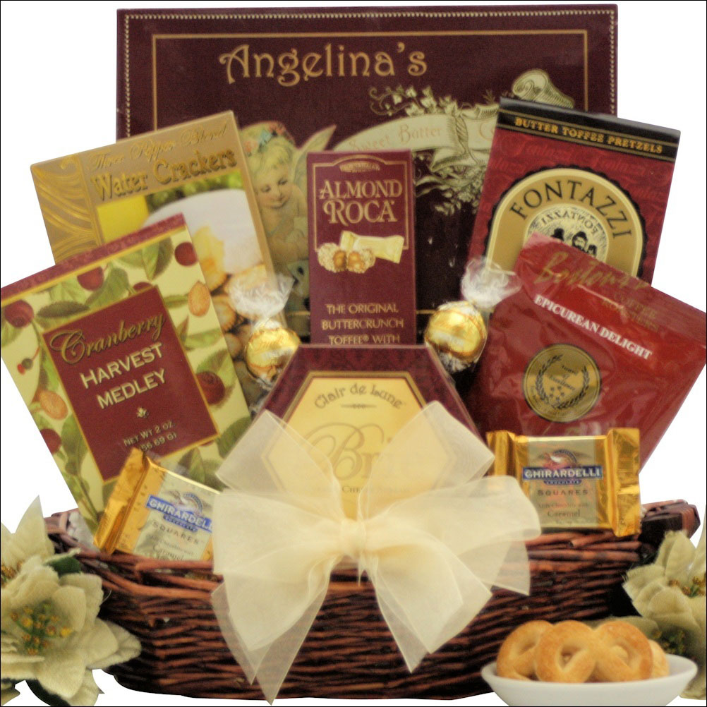 A Holiday Traditions classic Christmas Gift Basket