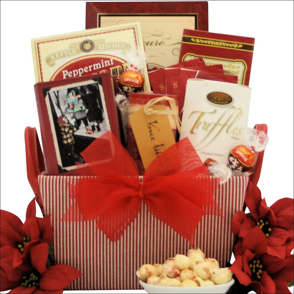 Delightful spa Christmas gift basket